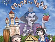 Affiche Théâtre : Conte en Vrac - illustration