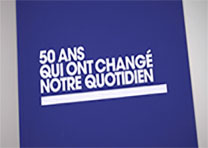 Réalisation générique «50 ans qui ont changé notre quotidien»