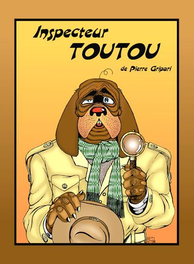 """Affiche Théâtre """"Inspecteur Toutou"""" - Illustrations"""