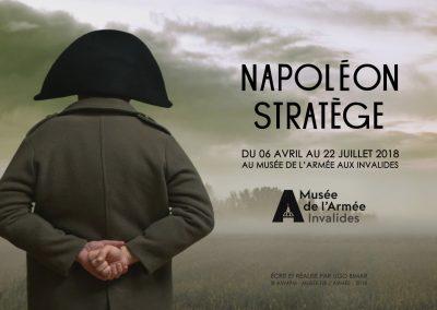 Création – Réalisation teaser «Napoléon Stratège» – Musée de l'Armée