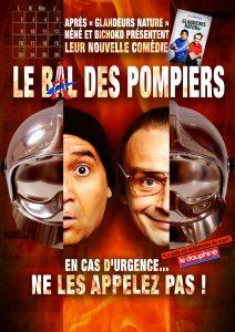 Affiche Théâtre : Les Glandeurs Nature - Le Bal des Pompiers